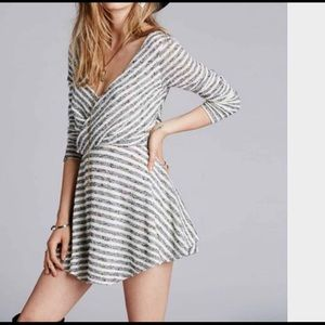 Dresses & Skirts - Free People Knit Maverick Striped Fit Flare Dress